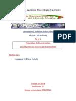 Isomerisaion Des Cyclohexane en Methylcyclopentane