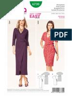6730 Wrap Dress
