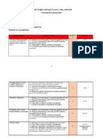 Model Proiectare Anuală Și Semestrială