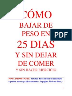 adelgazar sin complicaciones descargar pdf en