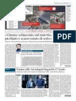 Corriere della Sera Roma 23 Gennaio 2021