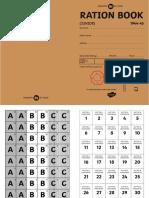 t2 h 5303 Ration Book Booklet Ver 1