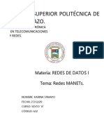 Redes MANETs