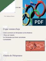 Jogos Olímpicos na era Moderna