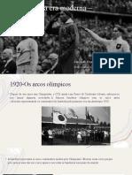 Olimpíadas na era moderna – 1920 a 1940