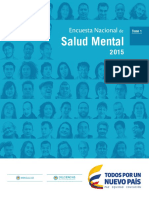 TomoI. Salud Mental 2015