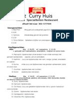Curryhuis 2011 Doc