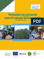 Guía práctica educativa Viviendo en armonía con el volcán El Boquerón