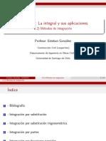 6.2) Meětodos de integracioěn