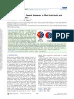 Janus Nanoparticles - Recent Advances