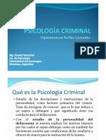 PSICOLOGÍA CRIMINAL 2