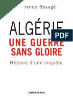Algérie, une guerre sans gloire_ Histoire d'une enquête -  Florence Beaugé