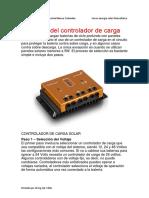 3.1 Seleccion Control Carga Solar