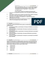 AV1 PRINCIPIOS DE GESTÃO