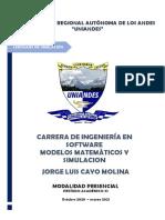 Jorge Cayo Lenguajes de Simulaciòn