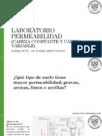 Refuerzo Permeabilidad Norma  INV E - 130