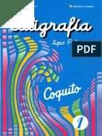 Zapata Santillana E. - Caligrafía Tipo Palmer, Parte 1