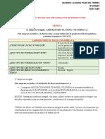 ORGANIZACIÓN DE PRODUCCION