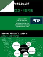 TA 615 MICROBIOLOGIA DE ALIMENTOS estudo DE CASO - GRUPO 6