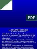 P521 - La Conversión de Pablo