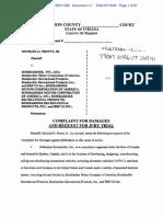 SHOTTS v. BOMBARDIER, INC. et al Complaint