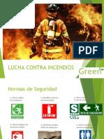 Lucha contra incendios-green