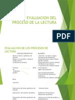EVALUACION DEL PROCESO DE LA LECTURA (1)
