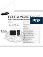 FourMicroonde Notice Samsung