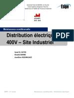 Maintenance conditionnelle - Distribution électrique 400V