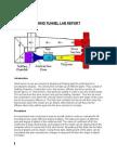 WIND TUNNEL LAB REPORT
