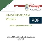 SISTEMAS GESTOR DE BASE DE DATOS 1