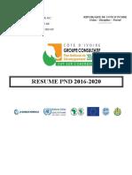 RESUME PND 2016-2020