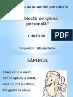 Obiecte de Igienă Personală