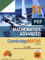 [Pender et al, 2019] Cambridge Mathematics Advanced Year 11