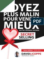 Secret Selling Soyez Plus Malin Pour Vendre Mieux Sur Les Réseaux Sociaux - David Licoppe