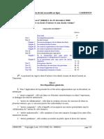 Loi de 2000 sur lees droits dd'auteurs et droits voisins