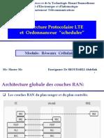 Chapitre  -  4G LTEArchitecture Protocolaire et Scheduler (1)