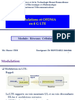 2-Chapitre - 4G LTE Modulations Et OFDMA