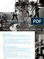Quaema Atelier Énergie & Impact
