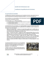 Controle Laitier Protocoles Et Methodes de Qualification
