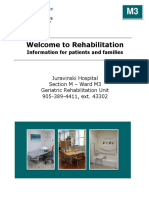 Rehabilitation Program - M3, Geriatric Rehabilitation Unit