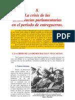 crisis periodo entreguerras
