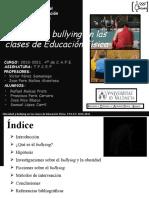 Presentación  Power point bullying