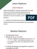 Newton e secante