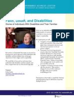 Faith, Doubt, and Disabilities