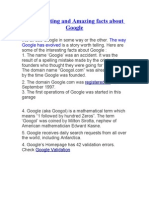 31 Interesting and Amazing Facts About Google