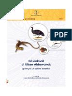 Gli animali di Ulisse Aldrovandi (91 pp.)