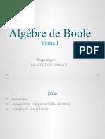 Algebre Boole-Cours TDI01