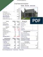 11620 Rossiter - Performance Report