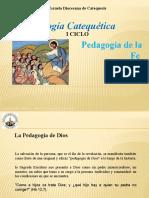 Pedagogía Catequética - Pedagogía de La Fe